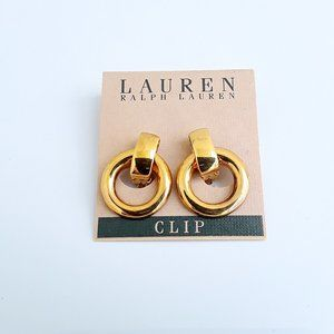 Ralph Lauren Clip Earrings NWT